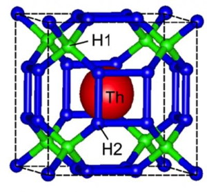 Crystal structure ThH10 - Codex International