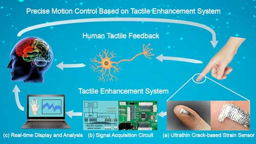 The visually aided tactile enhancement system - Codex International